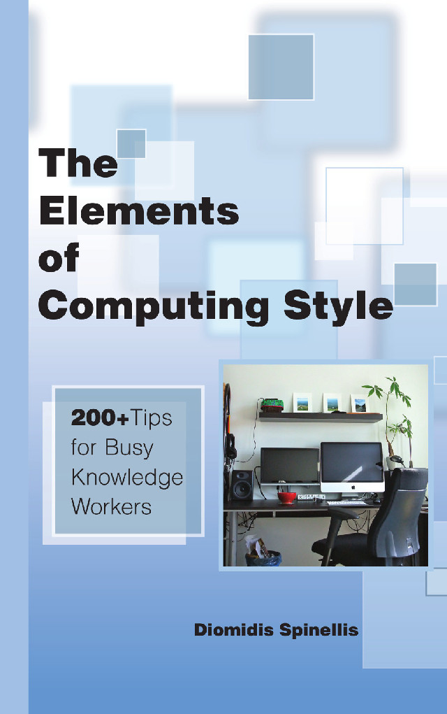 Elements of Computing Style - book cover